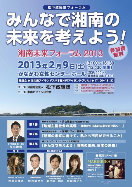 湘南未来フォーラム2013【完成版】